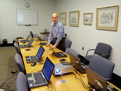 Laptop Lab, Empty | The Laptop Lab is set up and ready for c… | Flickr